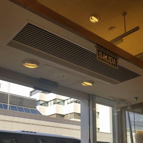 barriera d'aria ad incasso / professionale / nascosta / per soffitto sospeso