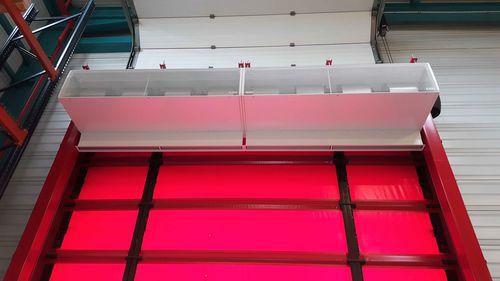 barriera d'aria a muro / da soffitto / ad incasso / professionale