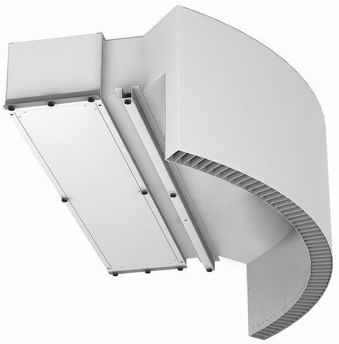 barriera d'aria da soffitto / professionale / per porta girevole