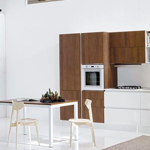 Tavolo moderno / in legno / rettangolare / ecolabel FSC ALU ARAN Cucine