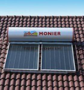 scaldacqua solare / da parete / orizzontale / a termosifone