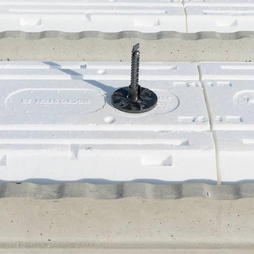 sistema di fissaggio in acciaio / per solaio / per condotto / per interni