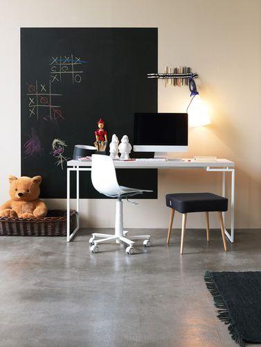 scrivania in legno / in metallo / moderna / per bambini