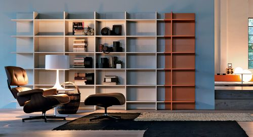 libreria moderna / in legno