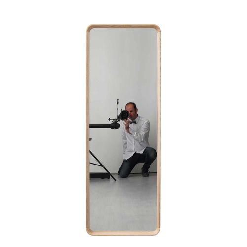specchio da terra / per camera da letto / con ripiano / girevole