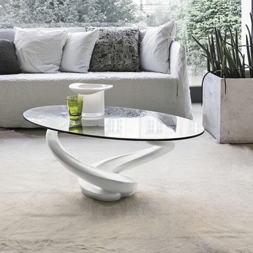 Tavolino basso / moderno / in vetro / in vetro temprato TANGO Target Point New