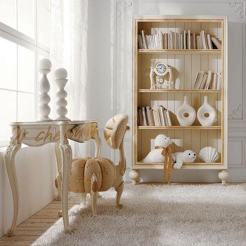 libreria in stile / in legno laccato / per bambini
