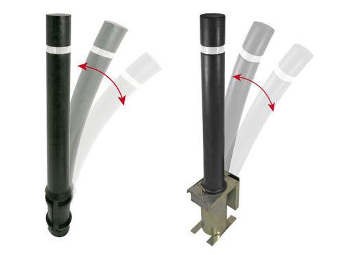 colonna di protezione / in gomma / flessibile / alta