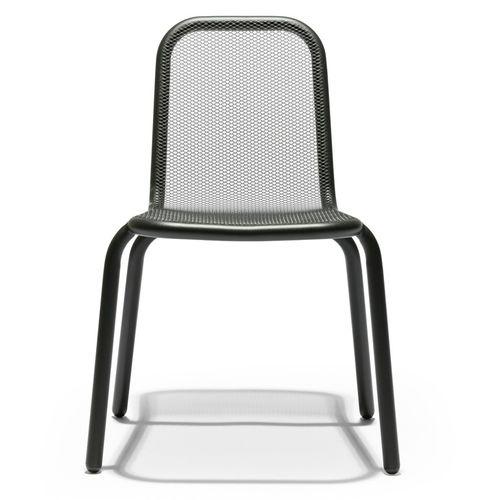 sedia moderna / per bambini / in acciaio inossidabile / per uso contract