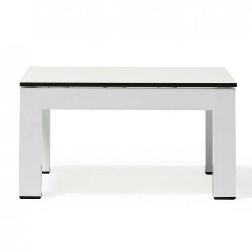 tavolino basso moderno / in alluminio / in acciaio inossidabile / in HPL