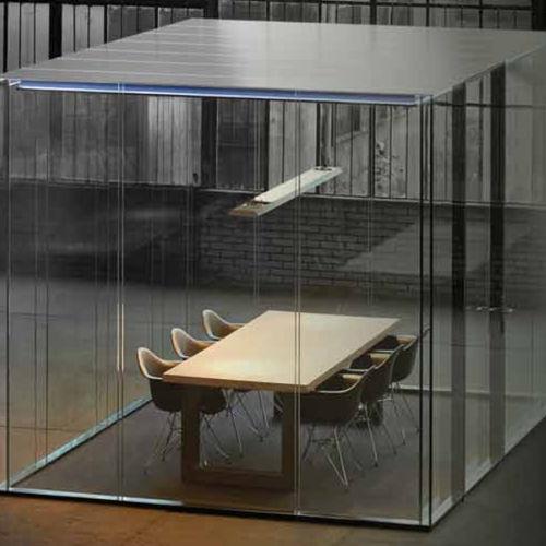 ufficio POD acustico / in vetro