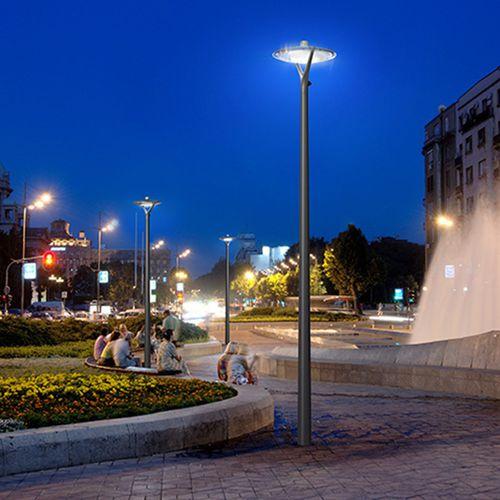 lampione urbano / moderno / in alluminio / in policarbonato