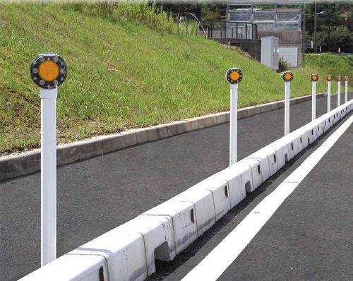 delineatore stradale luminoso / solare