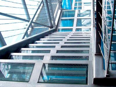 pannello in vetro laminato / temprato / di sicurezza / a bassa emissività