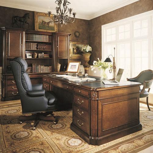 scrivania direzionale / in legno / classica