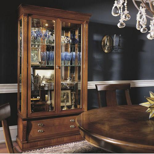 vetrina classica / in vetro / in legno