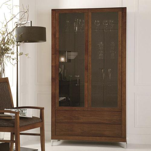 vetrina moderna / in vetro / in legno / in metallo