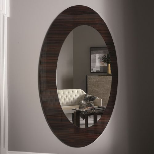 specchio a muro / moderno / tondo / ovale