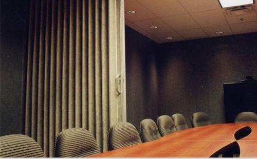 parete pieghevole / in vetro / ad uso professionale