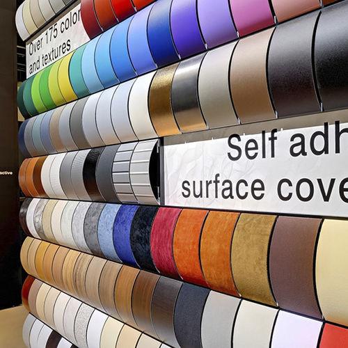 rivestimento murale in vinile / professionale / liscio / con motivo stampato