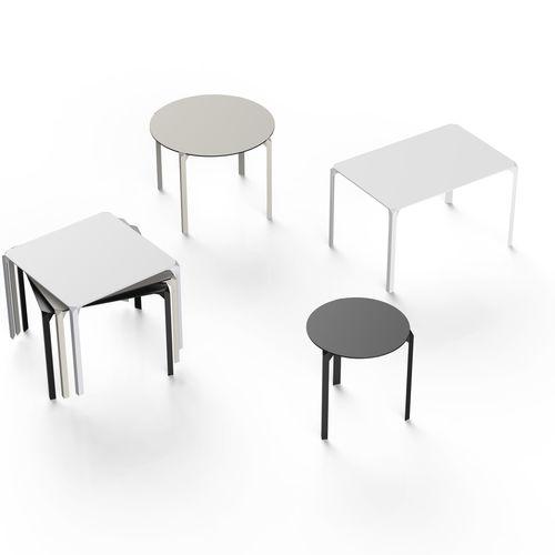 tavolo moderno / in HPL / in poliammide / rettangolare