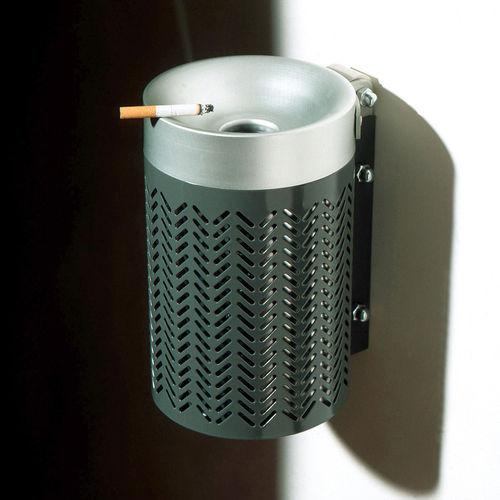 portacenere a muro / in acciaio / in acciaio inossidabile / per esterni