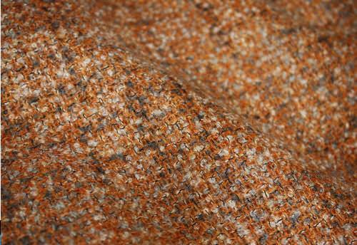 tessuto per tende / a tinta unita / in lana