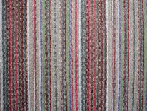 tessuto da tappezzeria / a righe / in lana