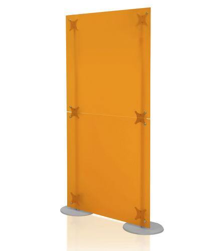 Divisorio per ufficio a pavimento / in plastica / modulare FLUOWALL  PAXTON