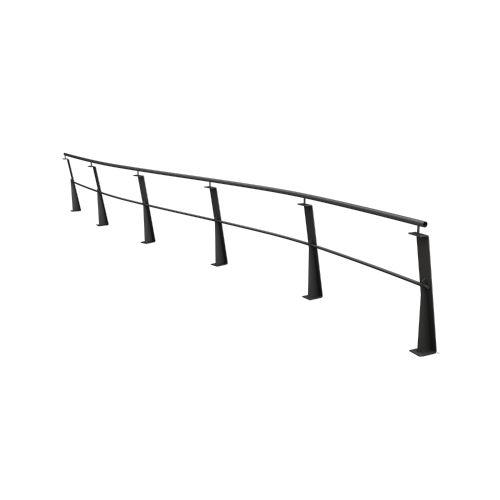 barriera di protezione / fissa / in acciaio galvanizzato / urbana