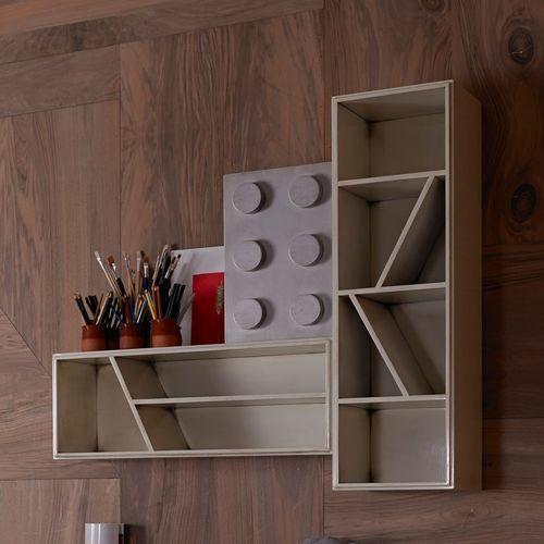 scaffale modulare / moderno / in legno / per bambini (unisex)