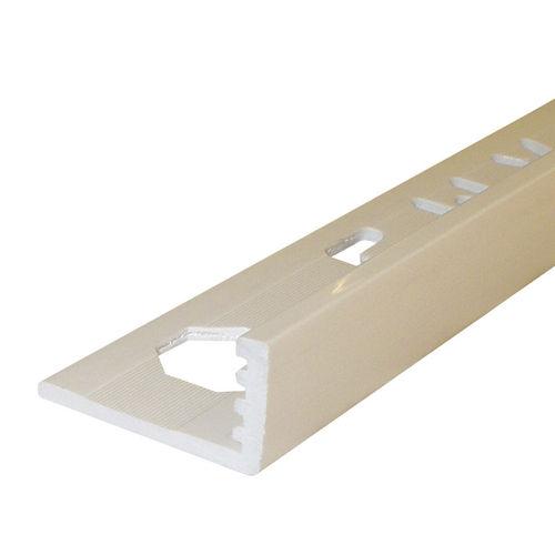 profilo di finitura in PVC / per angolo esterno / per piastrelle