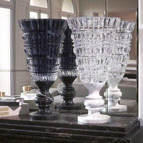 vaso in stile barocco / in cristallo / in marmo / di Marcel Wanders