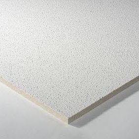Controsoffitto in lana minerale / a quadrotte / acustico / ignifugo CLASSIC : THERMATEX® LAGUNA Knauf AMF