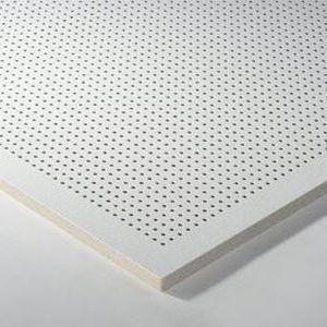Controsoffitto in lana minerale / a quadrotte / acustico / ignifugo DESIGN : THERMATEX® SYMETRA RG 4 - 10 Knauf AMF