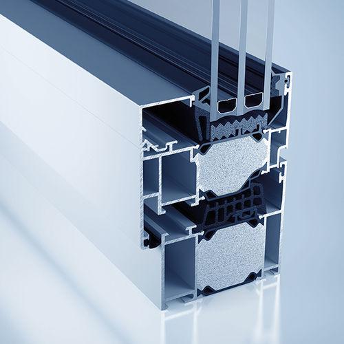 profilato per finestra in alluminio / a taglio termico / a tenuta stagna / acustico