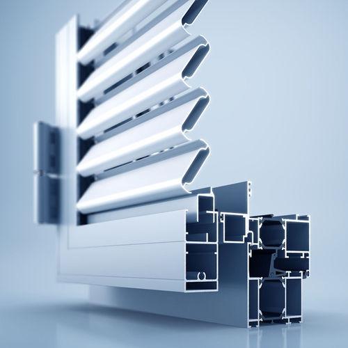 persiana scorrevole / a lamelle / in alluminio / per finestra