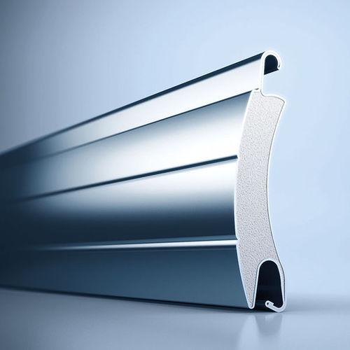 persiana avvolgibile / a lamelle / in acciaio / per finestra