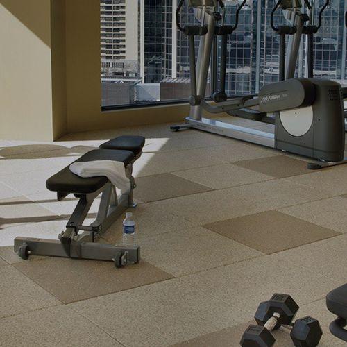 pavimento in gomma / per ospedale / per struttura sanitaria / professionale