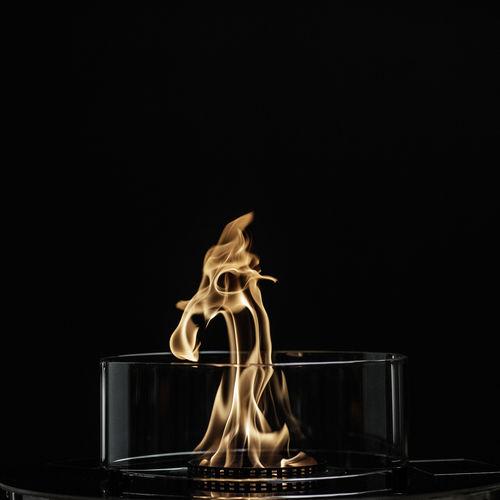 bruciatore a bioetanolo tondo / moderno / decorativo / da appoggio