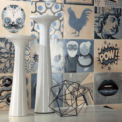Piastrella da interno / da parete / da pavimento / in gres porcellanato INDIGO : DÉCOR MIX Novoceram sas
