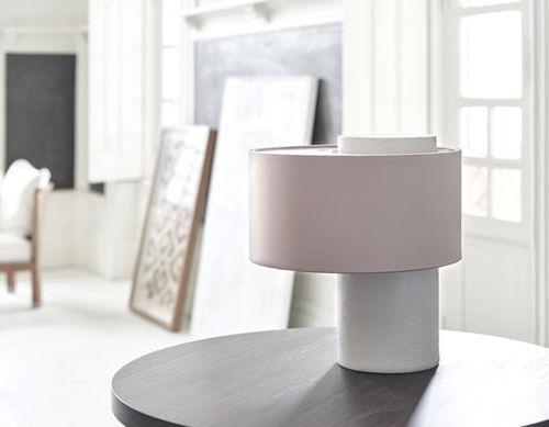 lampada da tavolo / moderna / in metallo lucido / in metallo spazzolato
