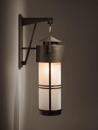 applique moderna / da esterno / in vetro / lanterna