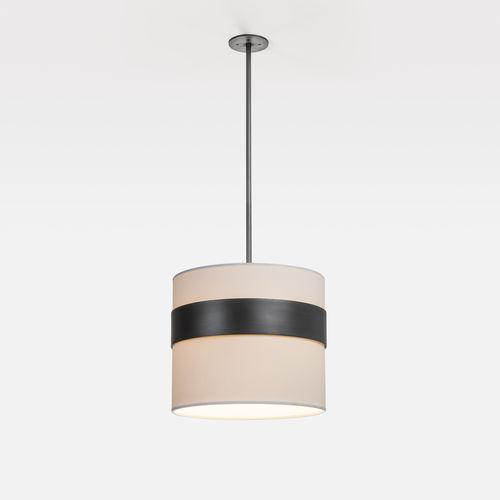 lampada a sospensione / moderna / di carta / in metallo