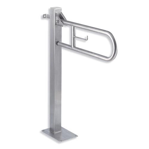 barra di sostegno in acciaio inox / a forma di U / da parete / a pavimento