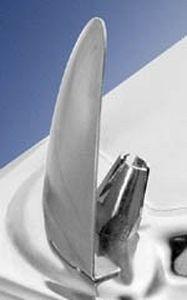 rubinetto per fontanella / da appoggio / in metallo / standard