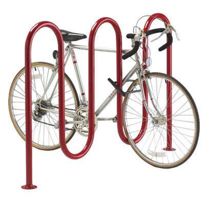 rastrelliera per biciclette in acciaio / in acciaio galvanizzato / in acciaio inox / per spazi pubblici