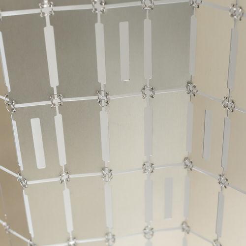 tenda geometrica / a fiori / in alluminio / in acciaio inossidabile