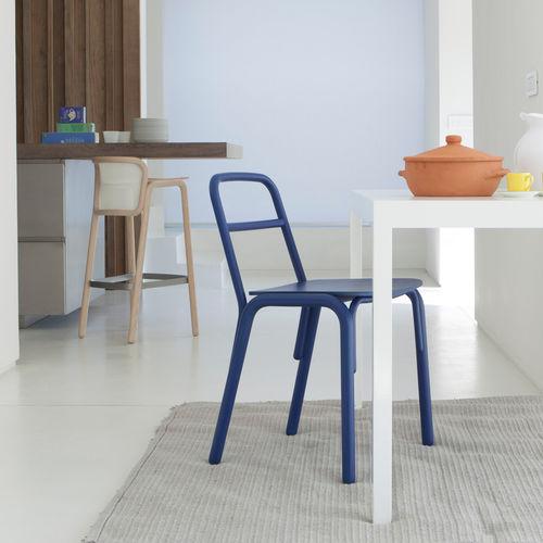 sedia design scandinavo / in legno / professionale