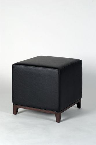 Pouf moderno / in pelle / quadrato DOMUS : 311 by Claudio Perin TEKHNE S.r.l.